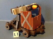 (L1) playmobil Baliste à 3 projectiles ref 4867 4865 4874 3666 6000 6001 4866