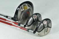 TaylorMade R5 Dual 9.5* Driver / r5 XL #5,#7 Fairway Wood Set Regular # 105877