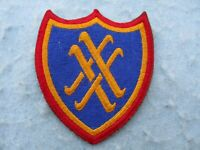 WWII US Army Patch 20th Corps Europe WW2