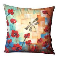 "18"" Ultra-velvet Sofa Bed Car Seat Pillow Case Square Cushion Cover Home Decor"
