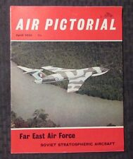 1966 April AIR PICTORIAL Magazine FN+ 6.5 Aviation - Far East - Soviet Aircraft