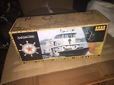 "Texaco ""Fire Chief"" Tugboat Bank First In Series 2000 Edition Sealed Unopened Bx"