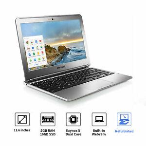 🔥Samsung Chromebook Laptop 🔥Dual-Core 1.7GHz 2GB 16GB 🔥100% Guaranteed Refurb