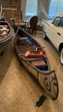 1930s 16' Painted Old Town Canoe