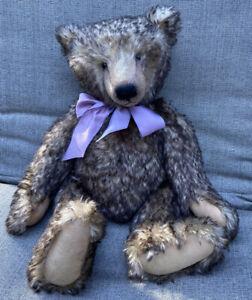 "Up For Adoption: OOAK Karin Conradi Creations Artist Bear:  ""Sedgley Potter"""