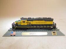 ++ Spur N 1:160 Del Prado Standmodell Diesellok GP-20 NYS&W SUSQUEHANNA USA