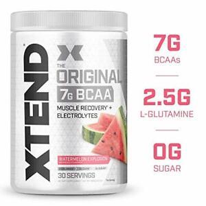 Scivation Xtend 7g BCAA's Glutamine Citrulline 30 Servings PICK FLAVOR