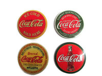 "Coca-Cola Classic Advertising 3"" Round Refrigerator Magnets  - BRAND NEW"