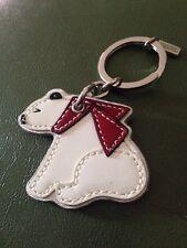 Coach Polar Bear Key Fob Keychain 92423