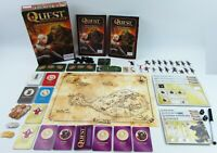 Quest Attack of the Orcs Board Game Dice Cards Map Boxed Excellent Condition