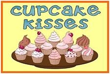 Cupcake Sign  Cafe Sign Bakers Signs  Bake off Sign Cup Cakes