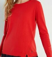 BN WHITE STUFF RED MEADOW COTTON WOOL MIX JUMPER SWEATER SIZE 6/16 ONLY £16.99!