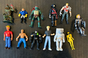 Lot of Batman Unlimited Mighty Minis Bane Figures TMNT WWE Power Rangers Quest