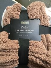 Silver One International Deluxe Sherpa Throw