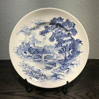 Vintage Enoch Wedgwood (Tunstall) Ltd Countryside Dinner Plate 9 7/8""