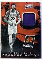 2019 19 Panini The National Deandre Ayton Jersey #DA, Suns, Player-Worn