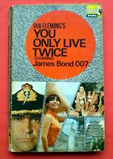 You Only Live Twice Ian Fleming paperback book 007 James Bond Pan 2nd pr 1966