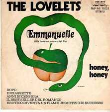 45 giri The Lovelets - Emmanuelle 1974 RIFI