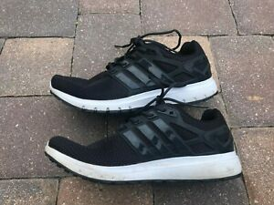 Adidas Energy Cloud Men's Black Sneakers 2017 Running Walking Athletic Sz 10.5