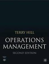 Operations Management, Terry Hill, Excellent