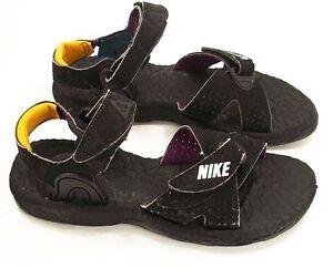 Nike Baby Deschutz Water Sandals Black/White  Boys Size 7 --Measure 6 5/8 inches
