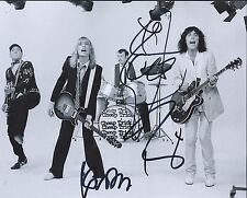 Cheap Trick Signed Autographed 8x10 Photo by 3 Robin Zander Nielsen Petersson C