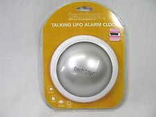 Talking Ufo Alarm Clock Home Decor Weather Clock Home New In Original Packaging
