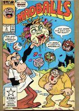 Madballs #6-1987 fn+ 6.5 low print run issue Howie Post Marvel Dr. Frankenbeans