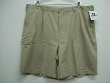 NWT Big Men's Russell Athletics Wrinkle Resistant Shorts Size 44 Cement #853H