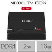 MECOOL KI PRO Smart 4K TV Box DDR4 Cortex-A53 Android Quad Core 2GB+16GB 5G WiFi
