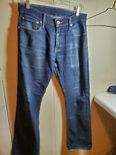 Mens Levis 514  Straight Fit  Blue Denim Jeans Size 30x30
