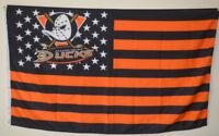 Anaheim Ducks USA Stars&Stripes Flag Deluxe Banner 3'x5'Feet