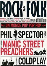 Rock & Folk #404 -SPECTOR/MANIC PREACHERS/COLDPLAY-