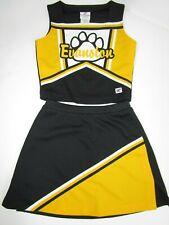 "New Evanston Cheerleader Uniform Outfit Costume Teen 30"" Top Elastic Skirt 24"""