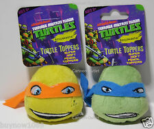 Teenage Mutant Ninja Turtles Pencil Toppers 2Pc Set Stocking Blue for backpack
