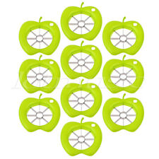 10 Pcs Stainless Steel Fruit Cut Splitter Slicers with Apple Shape for Home