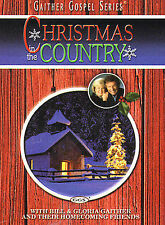 Bill and Gloria Gaither Their Homecoming Friends: Christmas in the Country NEW