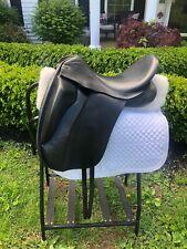 Custom - 17� Dressage Saddle - Black