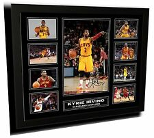 KYRIE IRVING CLEVELAND CAVALIERS SIGNED LIMITED EDITION FRAMED MEMORABILIA