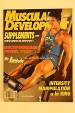 Muscular Development - Supplements, How Much Is Enough?  , June 1987