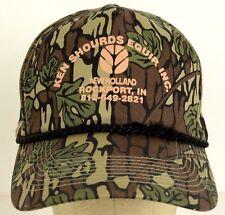 Ken Shourds Equipment Inc New Holland Camouflage Baseball Hat Cap Adjustable