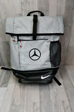 Nike Limited Edition Sports Backpack Bag with Embroidered Mercedes-Benz Logo