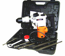"""1"""" HAMMER DRILL WITH SDS PLUS CHUCK & DRILL BIT CHISEL AND PUNCH HOTECHE 3/4 HP"""