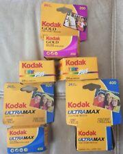 Expired Kodak Gold, Color Plus And Ultramax Unused Film