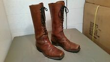 vintage mens 70s  lace up boot