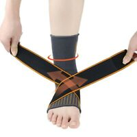 Sports Ankle Support Adjustable Stretchy Ankle Brace Compression Ankle Sleeve
