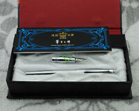 Duke 209-1 Steel Calligraphy & Fountain Pen Set  With New Gift Box Two Nibs