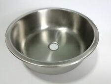RV Caravan Camper Boat Stainless Steel Round Hand Wash Basin Kitchen Sink GR-509