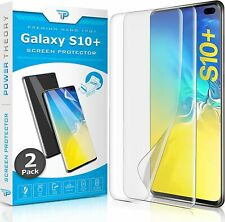 (2X) Power Theory Samsung Galaxy S10 Plus Screen Protector, Flexible non-Scratch