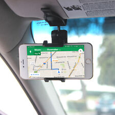 Car Visor Phone Holder Fits Phones Up to 4.7 inches wide with 360° Viewing